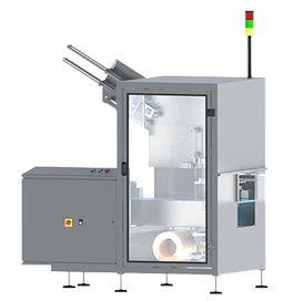machine d'application de poignées par adhésif frontales - HANDLEPACK D