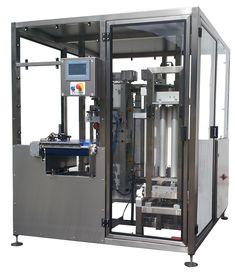 Machine de mise en lots de produits empilés par bandes adhésives - MULTIPACK P 35 90 L